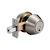 Click to swap image: Light Commercial Double Cylinder Deadbolt Stainless Steel