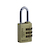 Click to swap image: Resettable Brass Combination Padlock RB20