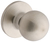 Click to swap image: Bala Knobset Dummy Knob Satin Stainless Steel
