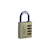 Click to swap image: Resettable Brass Combination Padlock RB40