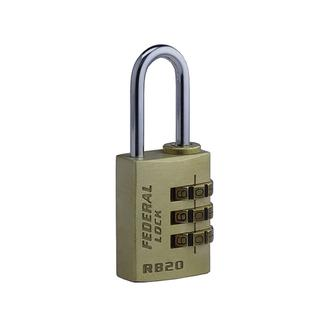 Resettable Brass Combination Padlock