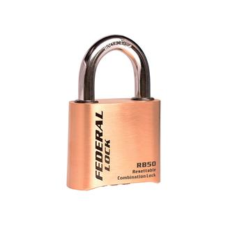 Light Commercial Resettable Brass Combination Padlock