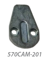 201 Cam only for 570 oval cylinder
