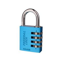 Resettable Aluminium Combination Padlock RA40